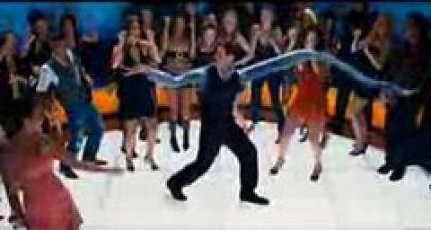 Reed Richards dancing