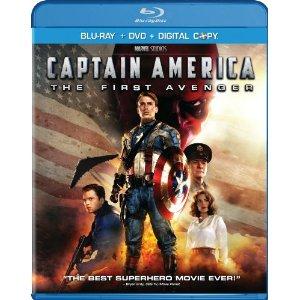 Captain America Blu-Ray DVD Combo