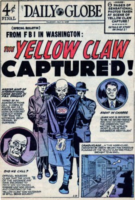 Yellow Claw captured