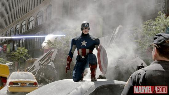 Captain America Sequel Publicity Shot