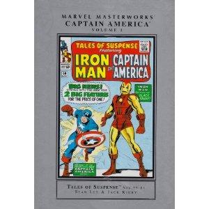 Captain America Tales of Suspense Masterworks