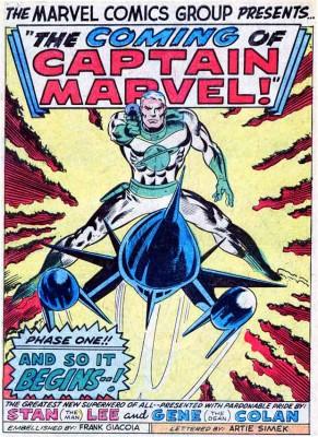 Captain Marvel 1 from Marvel Super Heroes 12