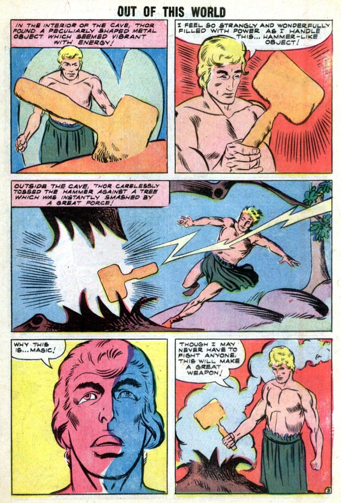Out of This World 11 The Hammer of Thor 11