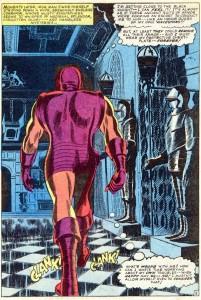 TOS 73 Iron man walking castle