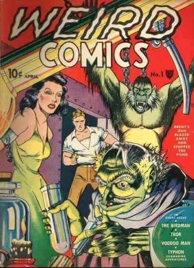 Weird Comics 1
