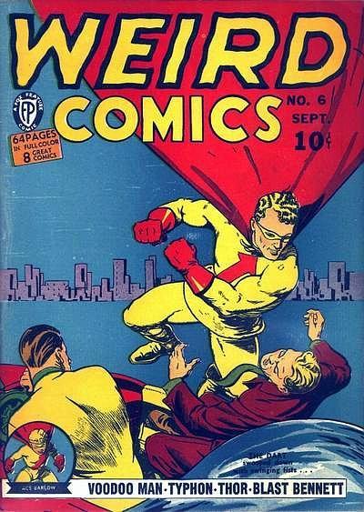 Weird Comics 6