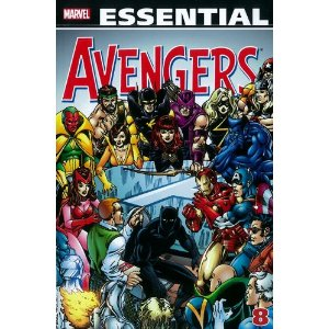 Essential Avengers 8
