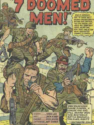 Howling Commandos 7 Doomed Men