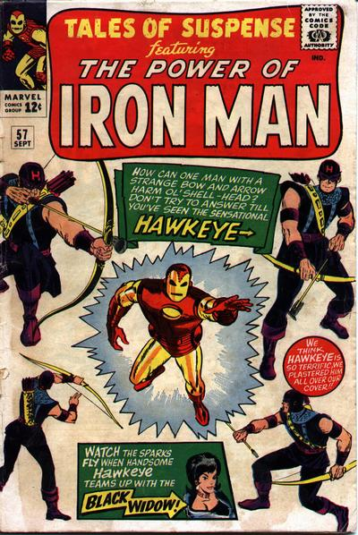 Tales of Suspense 57