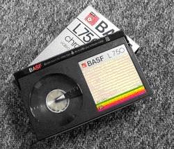 BASF VCR Tape