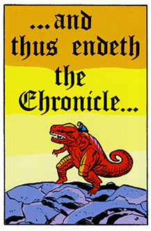 Devil Dinosaur Thus Endeth the Chronicle