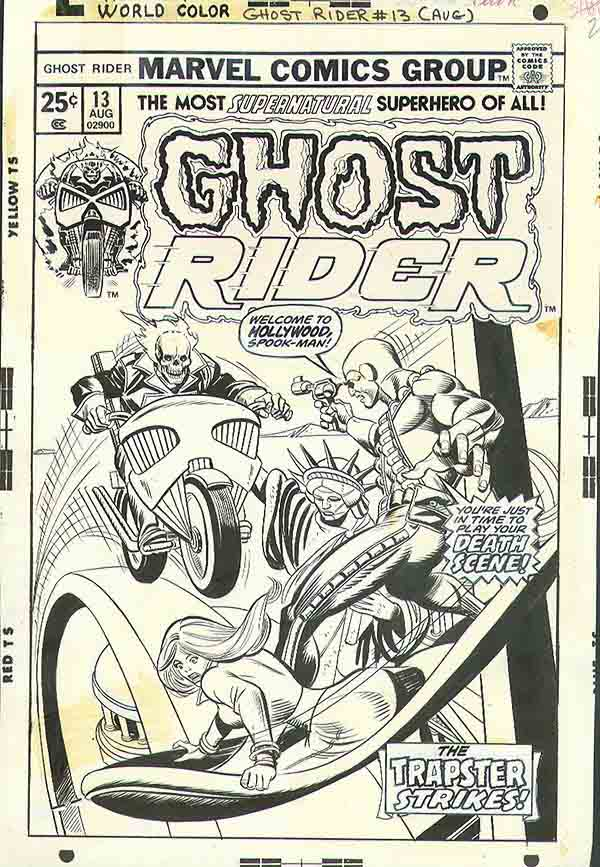 Ghost Rider 13 cover