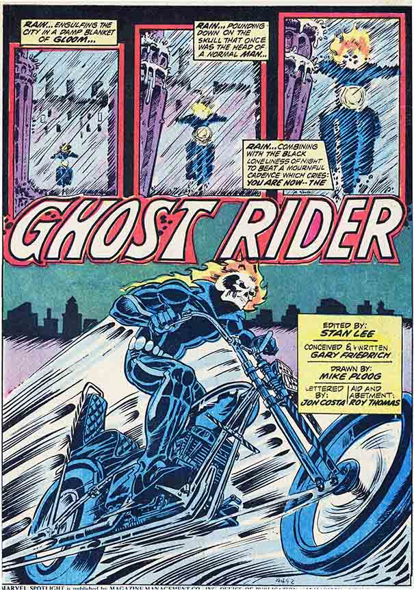 Ghost Rider Marvel Showcase