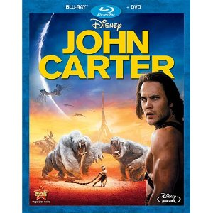 John Carter DVD Blu-ray