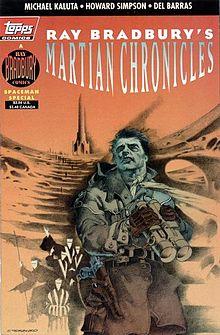 Bradbury Martian Chronicles comic