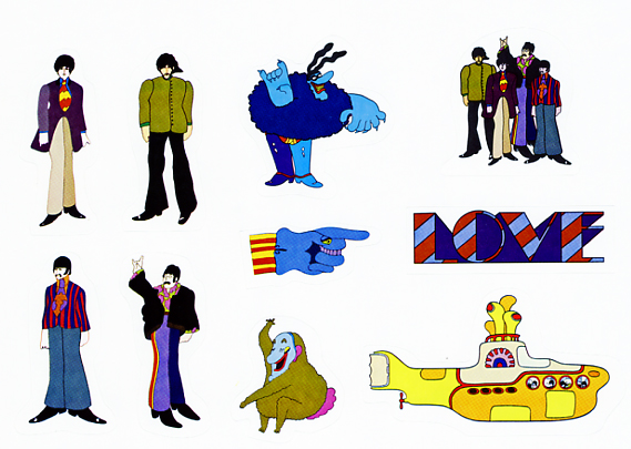 Today pepperland goes blu ray a review of yellow submarine comic