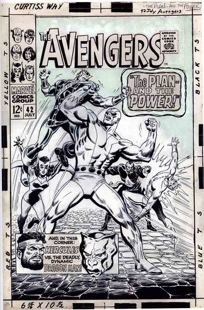 Buscema Avengers cover