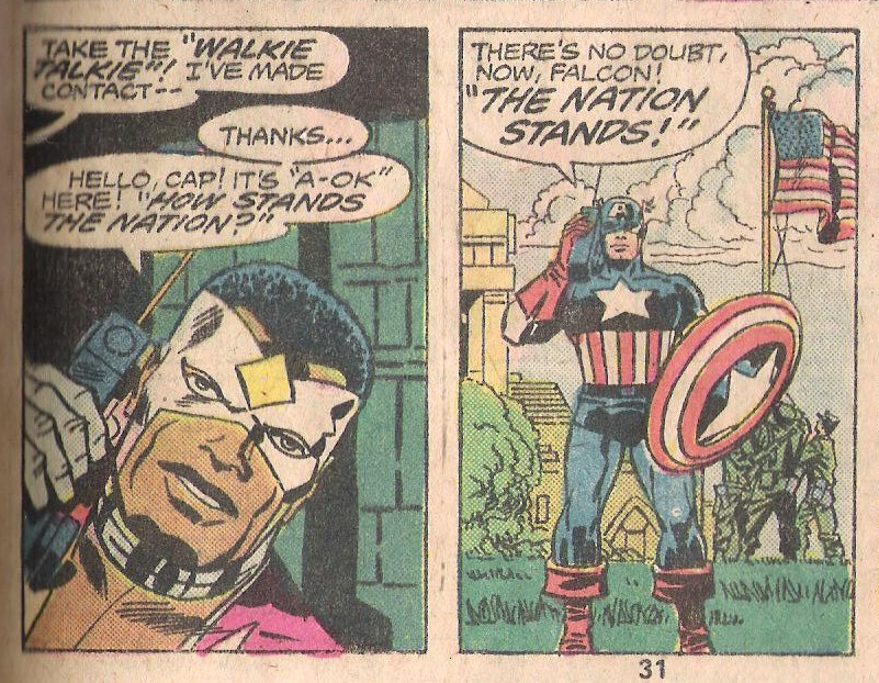 Captain America 200 The Nation Stands