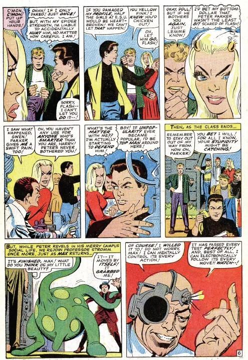 Gwen Sees through Peter