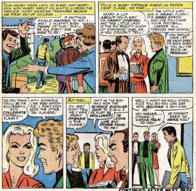 Gwen Stacy first appearance Amazing Spider-Man #31