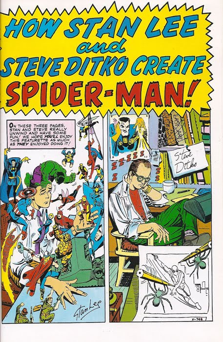 How Stan Lee and Steve Ditko Create Spider-Man