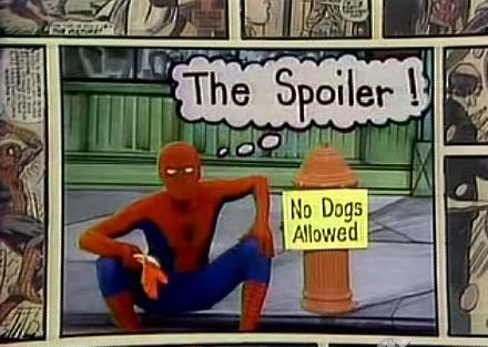 Spider-Man Spoiler