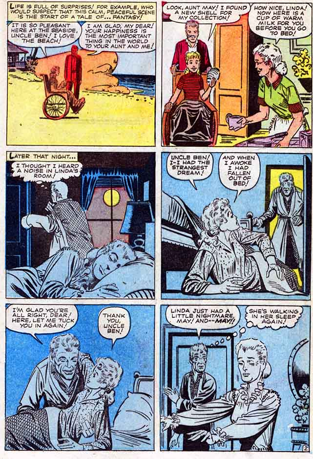 Strange Tales 97 Uncle Ben and Aunt May