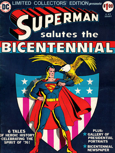Superman Salutes the Bicentennial DC Limited Collectors' Edition C-47