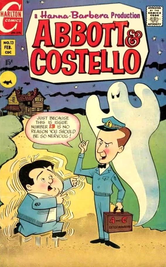 Abbott and Costello #13 Charlton