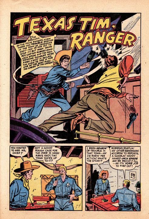 Texas Tim, Ranger