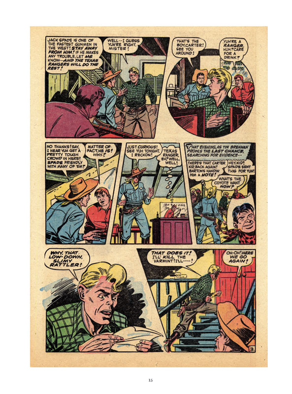 Golden Age Western Comics, Page 15a