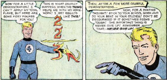 Human Torch Pep Talk 1