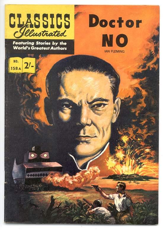 Dr. No Classics Illustrated