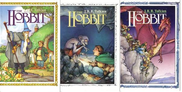 Hobbit covers 1-3