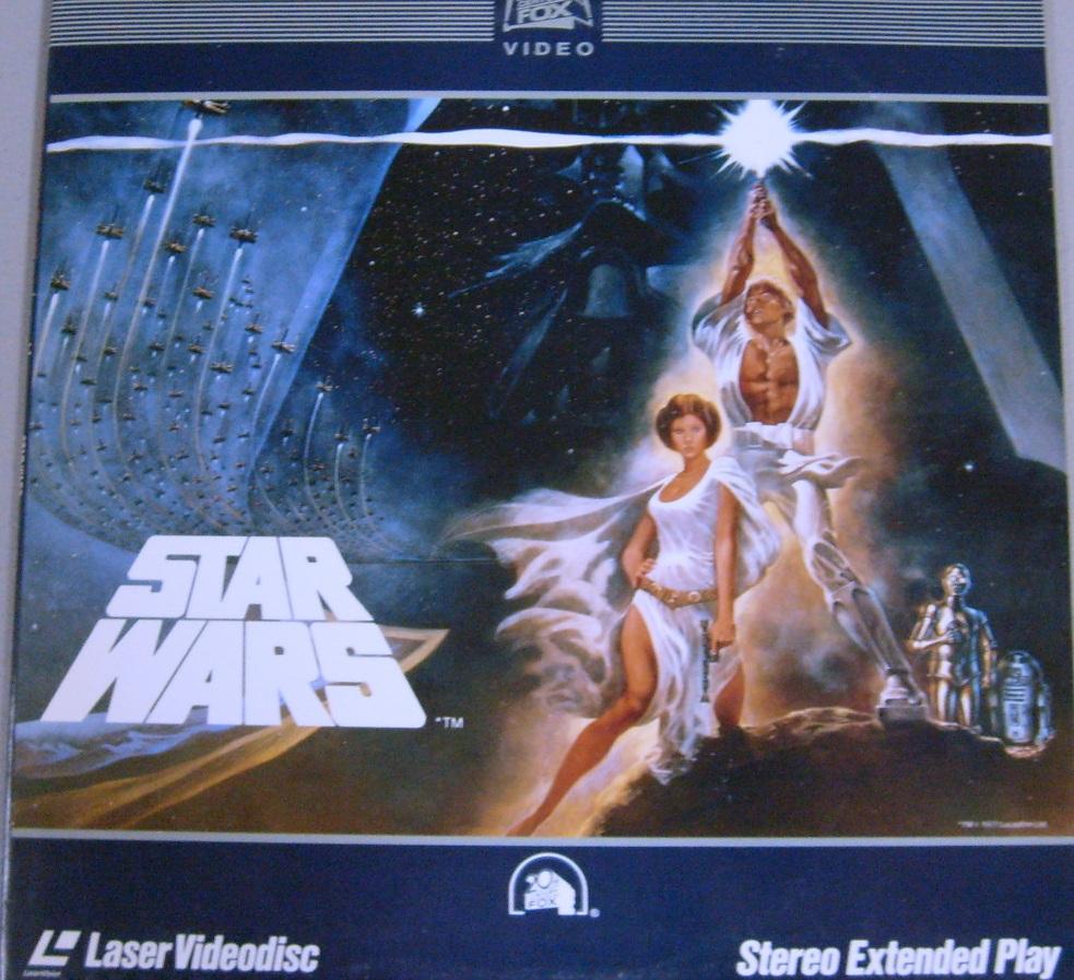 Star Wars LaserVideodisc