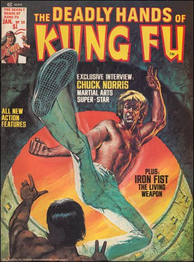 Deadly Hands of Kung Fu #20 with Chuck Norris