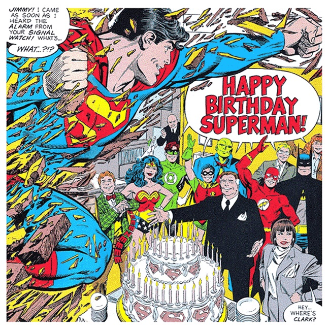 Happy Birthday Superman