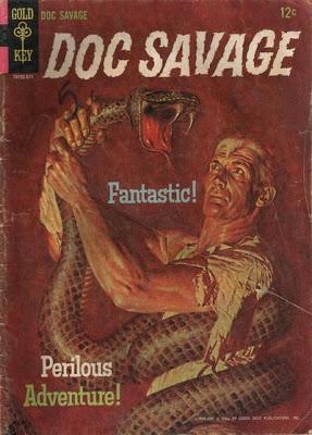 Doc Savage 1 Gold Key