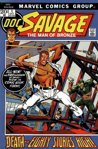Doc Savage Marvel Comics 1