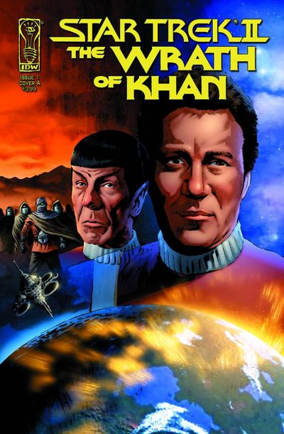 Star Trek II The Wrath of Khan Comic 1