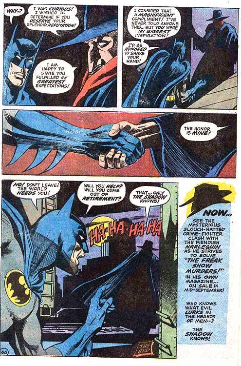 Batman 253 page 20