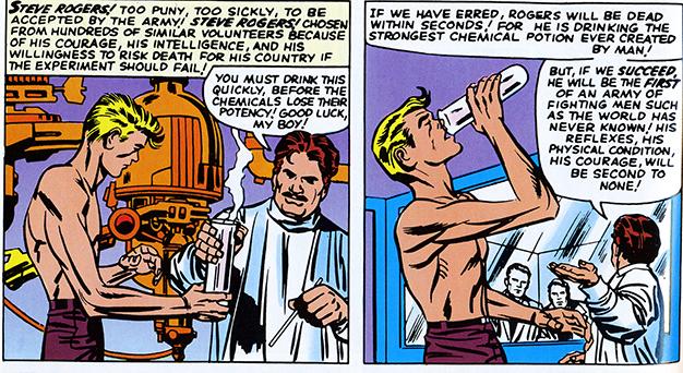 Tales of Suspense Captain America origin