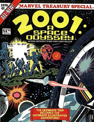 Marvel Treasury Edition 2001 A Space Odyssey