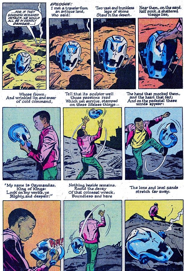 Avengers 57 ozymandias