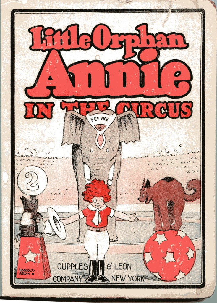 Little Orphan Annie in the Circus comic book