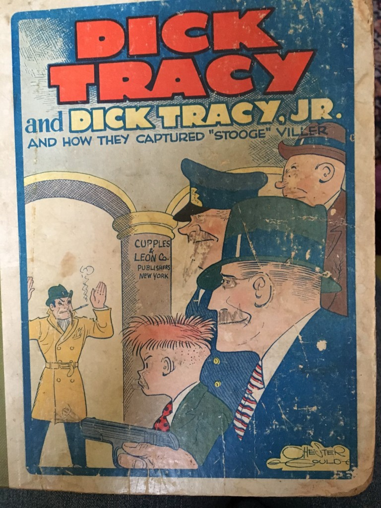 Dick Tracy and Dick Tracy, Jr.