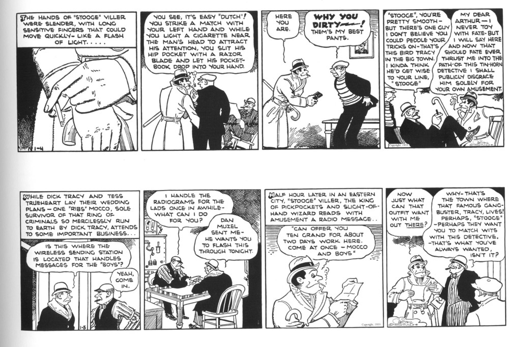 Dick Tracy, January 4 and 5, 1933